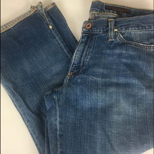 AG The Play Cropped Flared Jeans
